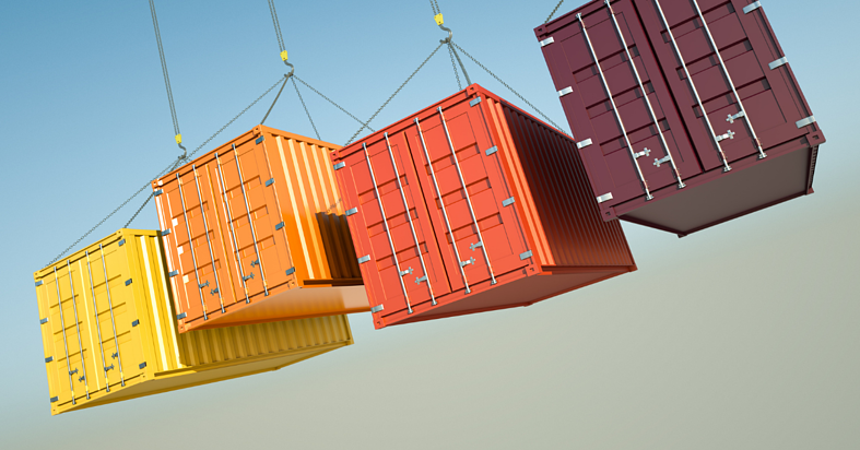Containers, the shopping carts of global logistics