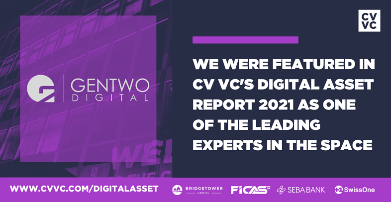 GenTwo Digital featured in the Swiss Digital Asset and Wealth Management Report 2021