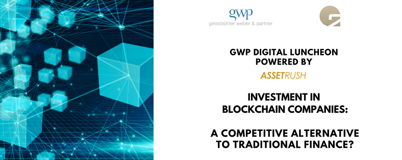 Your invitation – GWP Digital Luncheon powered by ASSET RUSH
