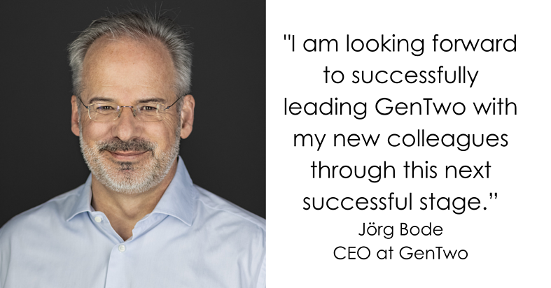 Jörg Bode assumes CEO position at GenTwo