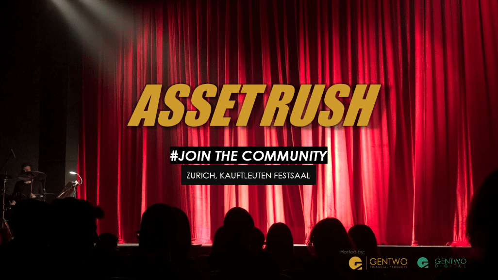 You are invited to the 2nd Asset Rush Event