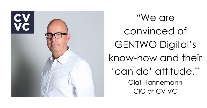Partnering with GENTWO: a venture capital investor's perspective